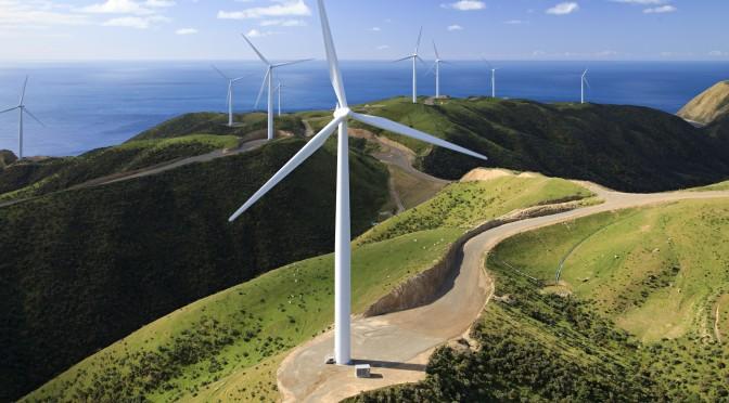 Energía eólica en Nueva Zelanda: el parque eólico de Waverley tendrá 31 aerogeneradores
