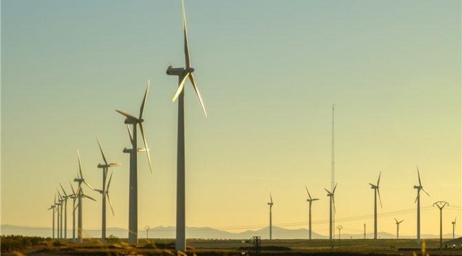 Iberdrola inicia el parque eólico El Pradillo, en Zaragoza