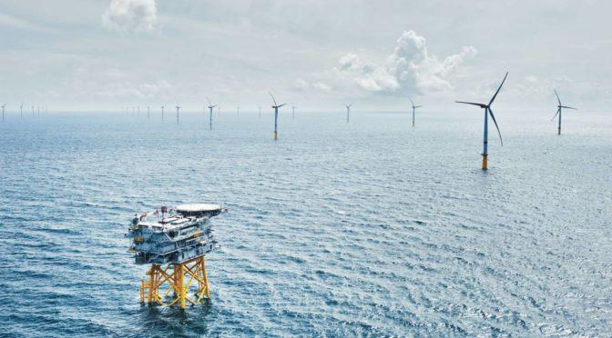 Eólica marina en Dinamarca: parque eólico con 72 aerogeneradores