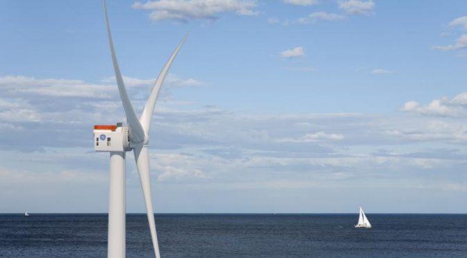 GE instala el aerogenerador más grande para la eólica en Reino Unido
