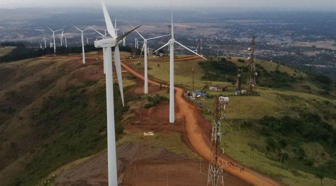 Energía eólica en Kenia, Mombasa Cement establece un parque eólico de 36 MW en Kilifi