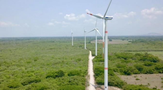 Oaxaca estrena el parque eólico más grande de América Latina