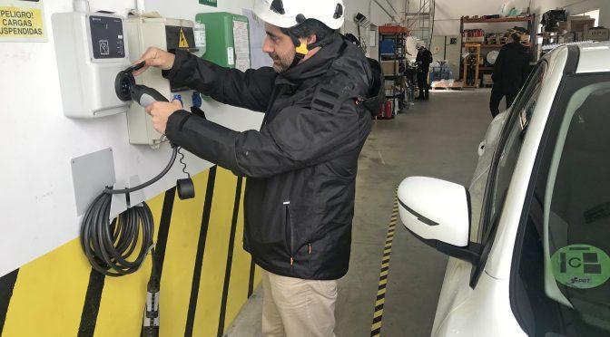 Endesa dota a cuatro de sus parques eólicos gallegos de puntos de recarga para vehículos eléctricos