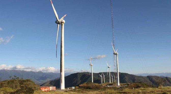 Eólica en Ecuador, avanza parque eólico en Huascachaca