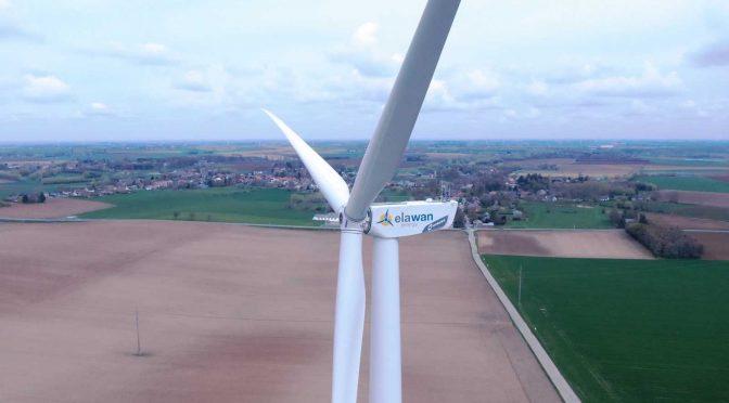 Elawan Energy pone en marcha su sexto parque eólico en Bélgica