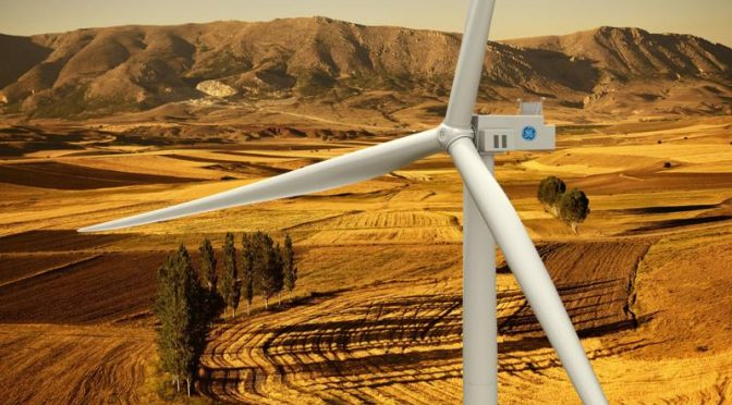 Energía eólica en Turquía: aerogeneradores GE Renewable Energy para un parque eólico