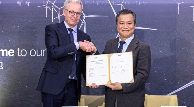 Contrato de eólica marina de MHI Vestas para aerogeneradores en Taiwán