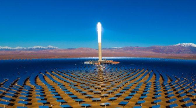 Marruecos busca el precio más bajo de energía termosolar