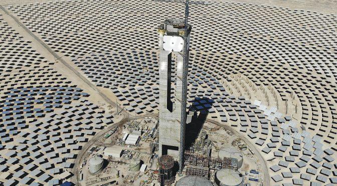 Primera central termosolar de Chile y América Latina tiene 80% de avance