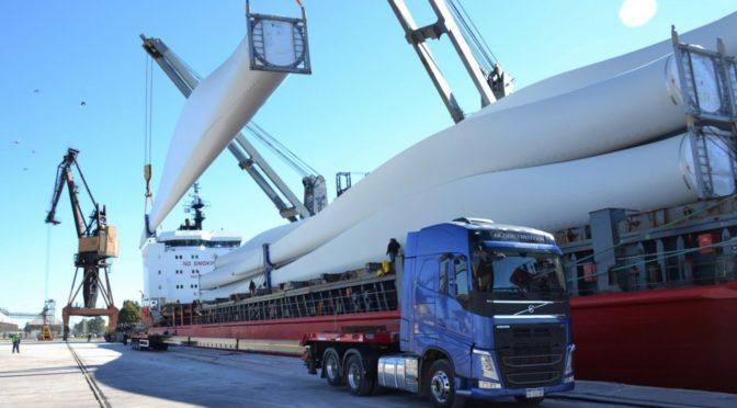 Eólica en Argentina: En dos años entraron por Bahía 208 aerogeneradores