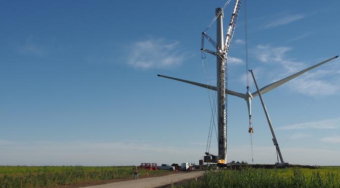 Enel Green Power inicia la construcción de un nuevo parque eólico en Zaragoza
