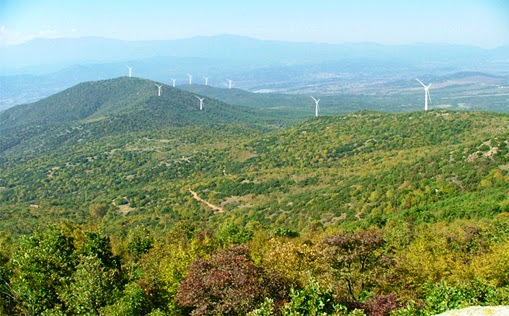 Eólica en Macedonia: El primer parque eólico de Macedonia tiene 16 aerogeneradores