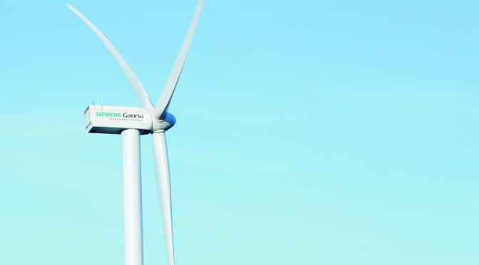 Tres nuevos contratos de energía eólica en Chile para Siemens Gamesa