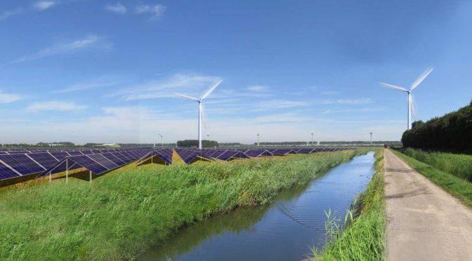 Vattenfall combina energía solar y eólica con baterías