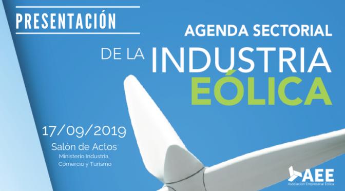 Presentación de la Agenda Sectorial de la Industria Eólica