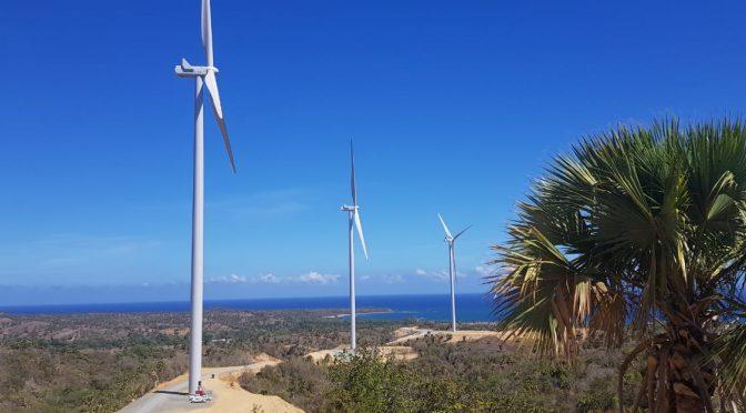 La energía eólica avanza en República Dominicana