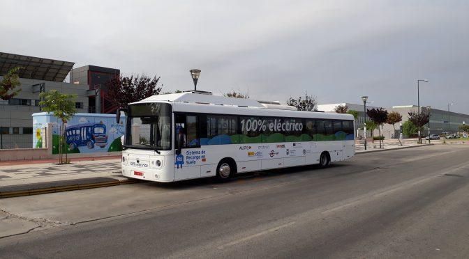 Prototipo de carga rápida por contacto en suelo para autobuses eléctricos
