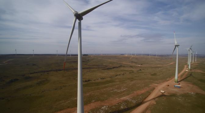 Energía eólica en Uruguay: aerogeneradores de Enercon para un parque eólico