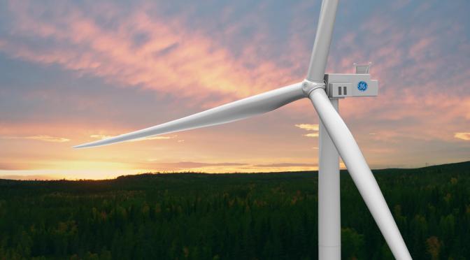 GE Renewable Energy suministrará aerogeneradores a un parque eólico de 175 MW en Suecia