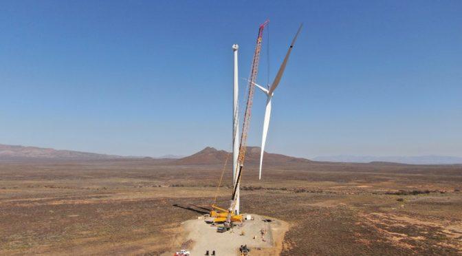 Eólica en Sudáfica: Mainstream instala aerogeneradores