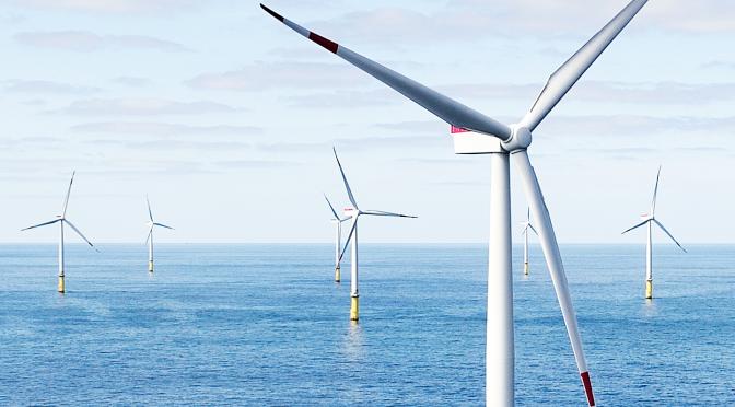 Nexans contribuye a la energía eólica de Francia conectando el parque eólico marino de Saint Brieuc