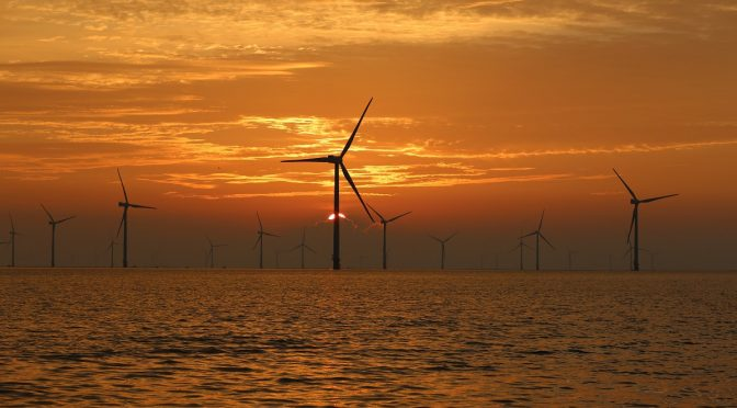 AIE: energía eólica marina se multiplicará por 15 de aquí a 2040