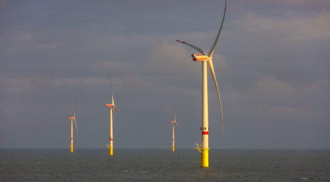 Francia planea nueva energía eólica marina de 1 gigavatio en Normandía