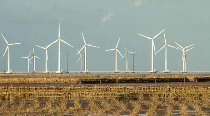 Asia será el mercado dominante para la energía eólica