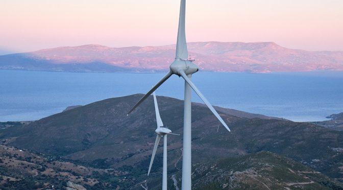 Energía eólica en Grecia: se inauguró el complejo eólico Kafireas
