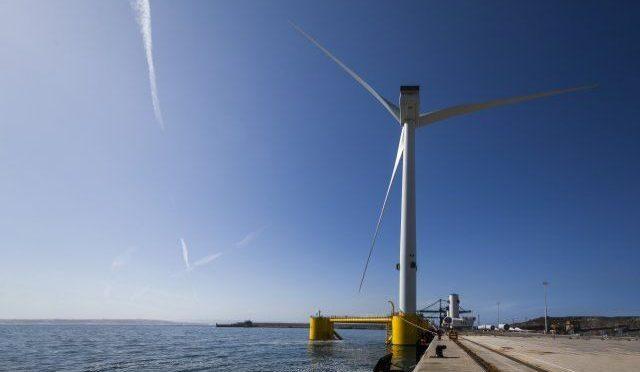 Windfloat Atlantic comienza la instalación offshore del primer parque eólico flotante en Europa continental
