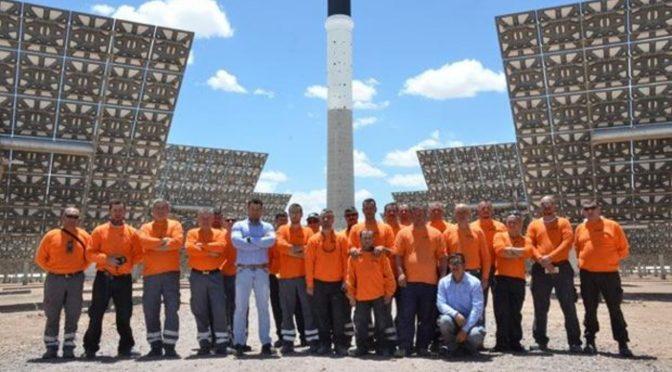 Refractaris lidera la construcción de escudos solares para la energía termosolar