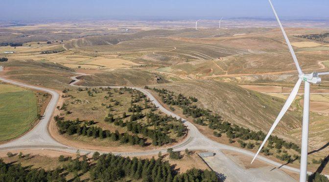 Energía eólica en España, EGP conecta el parque eólico Sierra Costera I