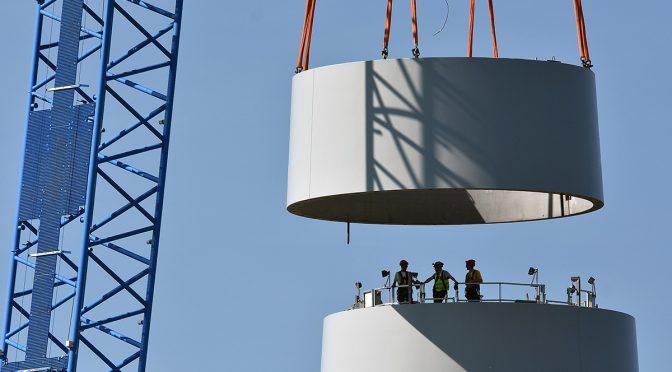 El acero competitivo, fundamental para el éxito de la industria de energía eólica en Europa