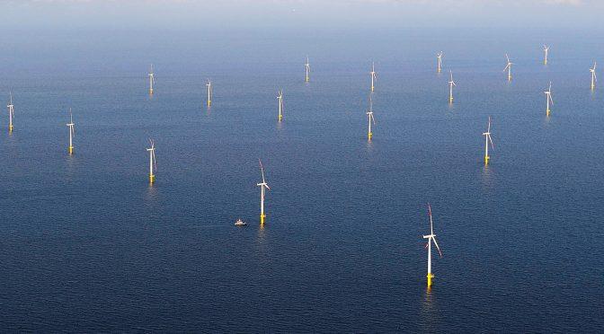 EDF lanza central eólica marina Neart na Gaoithe de 450 MW con su socio irlandés ESB