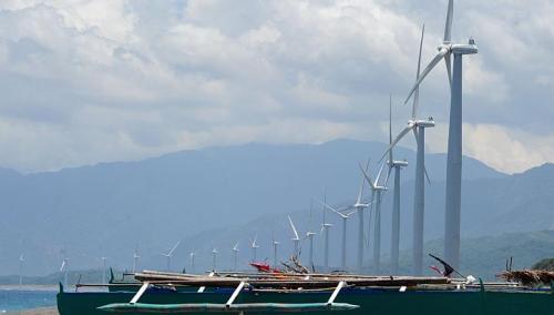 Energía eólica en Filipinas, luz verde para el parque eólico San Vicente