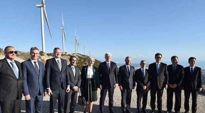 Energía eólica en Montenegro, el parque eólico de Možura comienza a funcionar