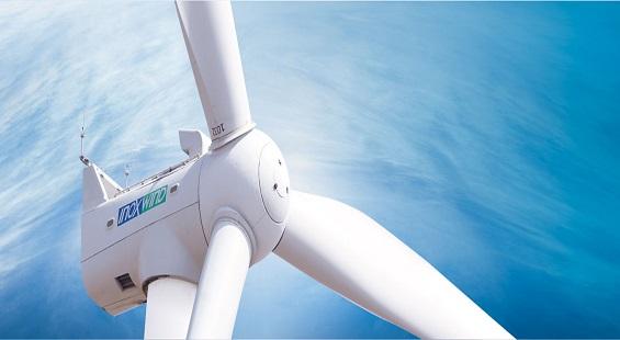Energía eólica en India, aerogeneradores de Inox Wind para parque eólico en Gujarat