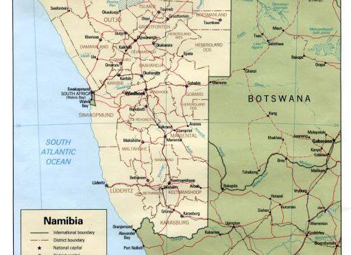Namibia construirá 4 centrales de energía eólica