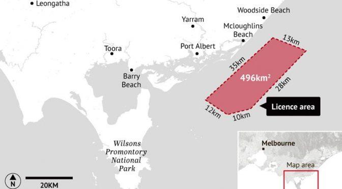 La primera central de energía eólica marina de Australia gana terreno