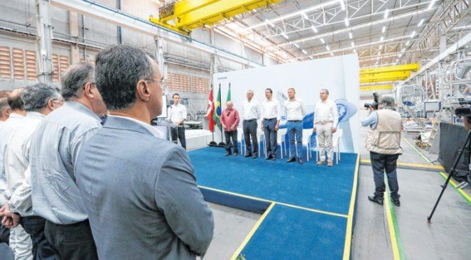 La eólica Vestas abre fábrica con 624 aerogeneradores ya ordenados en Ceará
