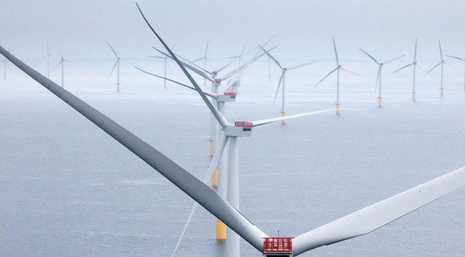 Los grandes objetivos de la UE para la energía eólica marina son alcanzables, entre 230 y 450 GW para 2050