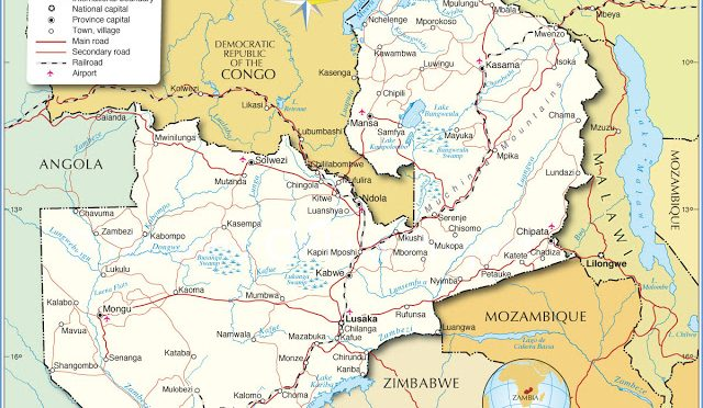 Protermosolar, Central de energía termosolar (CSP) Kalulushi en Zambia