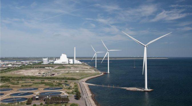 Ørsted producirá hidrógeno con energía eólica