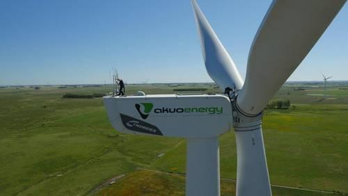 Energía eólica en Uruguay, Nordex hará mantenimiento de 61 aerogeneradores