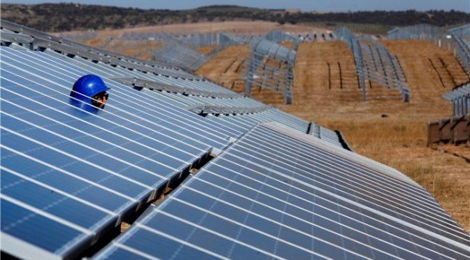 Iberdrola concluye la mayor central fotovoltaica de Europa