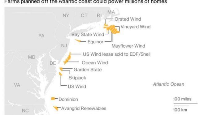 AWEA insta al Departamento del Interior a avanzar en proyectos de energía eólica marina