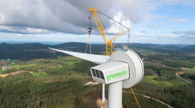 Eólica en Galicia, Greenalia pone en marcha su primer parque eólico