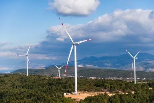 Energía eólica en Turquía, aerogeneradores de Nordex para un parque eólico de 62 MW