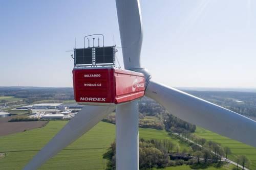La eólica Nordex recibe pedidos de 888 megavatios de aerogeneradores en el segundo trimestre de 2020
