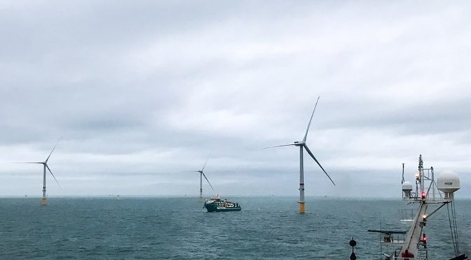 El parque eólico marino de 219 MW Northwester 2 ha comenzado a suministrar energía eólica a la red belga